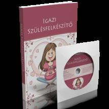 Vida Ágnes - Igazi Szülésfelkészítő könyv - CD melléklettel
